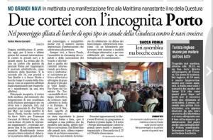 Revue de Presse vénitienne du 09 06 2013