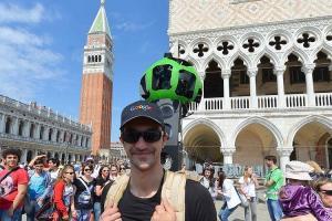 "Un ""trekker man"" à Venise"