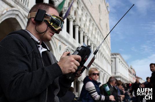 Raphael Pirker, à Venise.