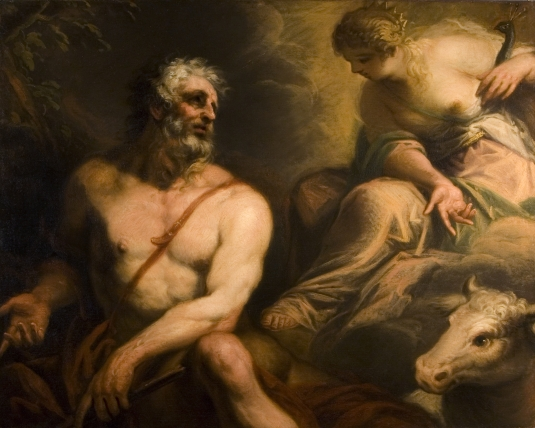 Nicoló Bambini, Jupiter, Juno a Io