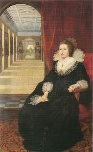 Alatheia Talbot Comtesse of Arundel vers 1618, par Daniël Mijtens