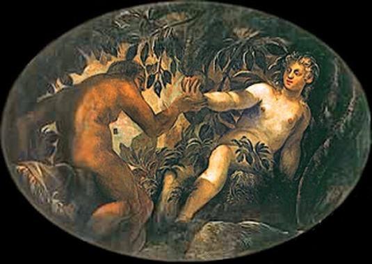 Le Tintoret, Le péché originel, 1575/1581