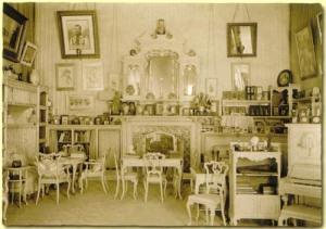 Le salon mauve de l'impératrice Alexandra Feodorovna
