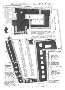 Plan de la Piazza en 1831