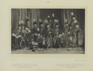 Groupe des officiers du Régiment de la Garde