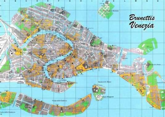 Plan Brunettis Venezia