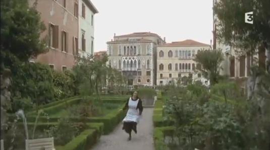 Le jardin de la maison de retraite d'Amelia Brunetti