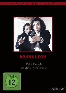 DVD * Donna Leon - Feine Freunde / Das Gesetz der Lagune