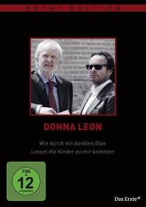 DVD Donna Leon - Dunkles Glas / Lasset die Kinder zu mir kommen