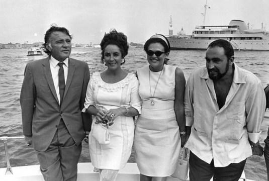 #Elizabeth Taylor #Howard Taylor #Richard Burton #Aristotle Onassis