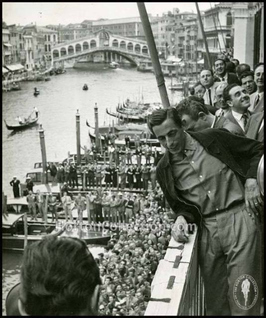 Fausto Coppi à Venise