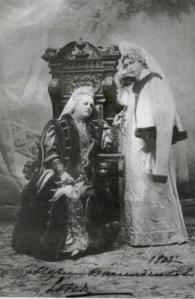 Princesse Maria Nikolaevna Vasilchikova et sa fille, la Princesse Sofia Sergeevna