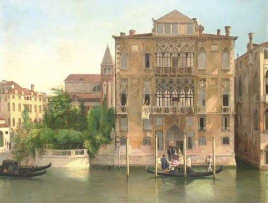 """Palazzo Cavalli Franchetti, Venice (800х606) - Antonietta Brandeis"""