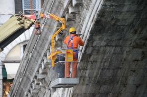 Scanner du pont du Rialto à Venise