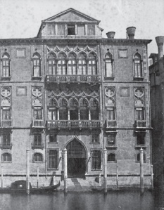 La palais avant sa reconstruction