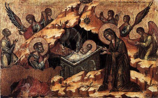 Nativité - Paolo Veneziano, Venise, 1333, Eglise San Pantalon