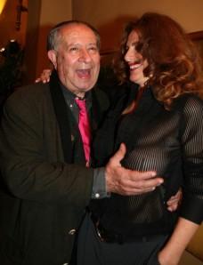 Tinto Brass et Caterina Varzi à Florence en 2008