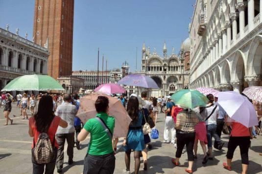 Canicule à Venise