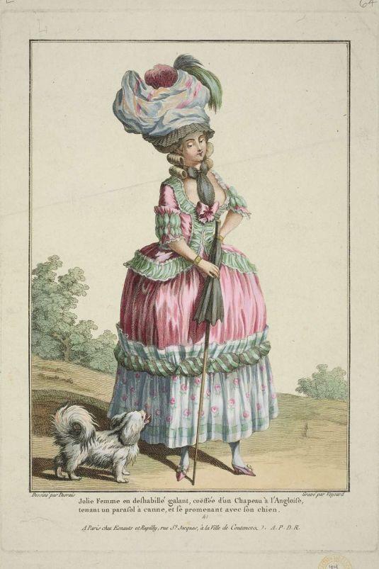 Costume Français. 1778