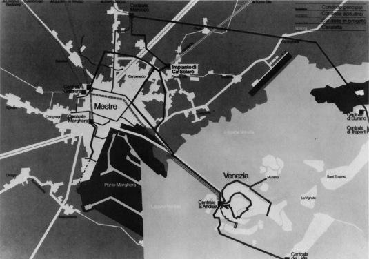 Le réseau CGE de Venise
