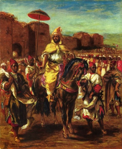 Portrait du sultan du Maroc - Tableau 1963 - Eugène Delacroix