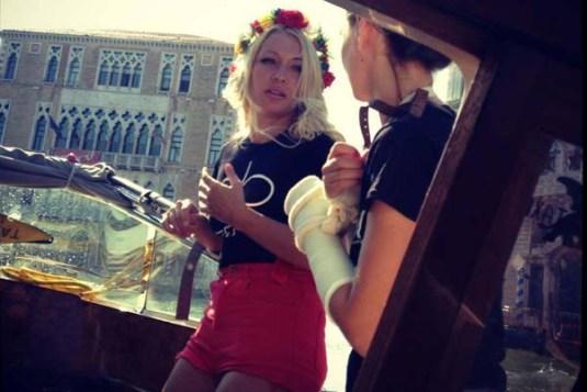FEMEN à Venise