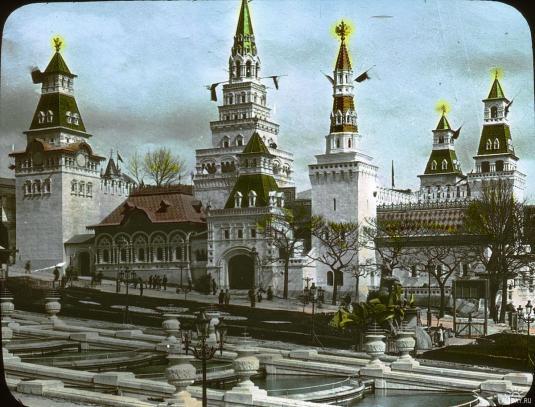 Les pavillons de la russie à l'expoisition Universelle de 1900