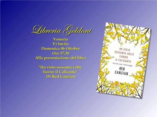 Red Canzian a Venezia - Libreria Goldoni