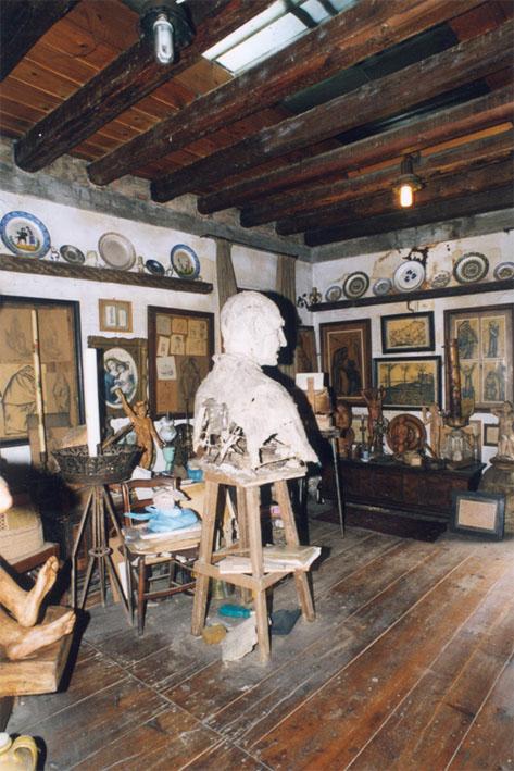La maison atelier de Remigio Barbaro