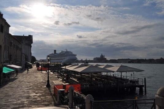 Quand Caraibes cruises agresse Venise