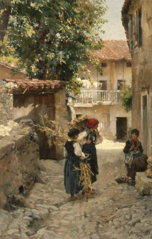 Street in Venetia par Henry Woods