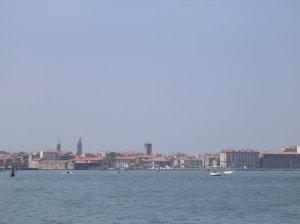 Chioggia vue depuis l'Isola di San Felice