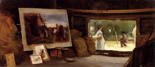 A Country Studio 1878