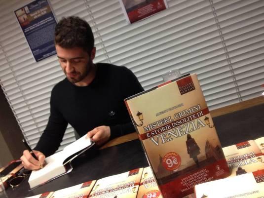 Alberto Pattacini à la Librairie Goldoni