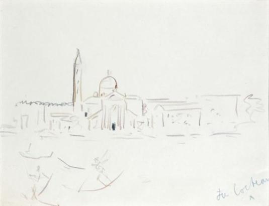 Jean Cocteau Venise Le Quartier De San Marco