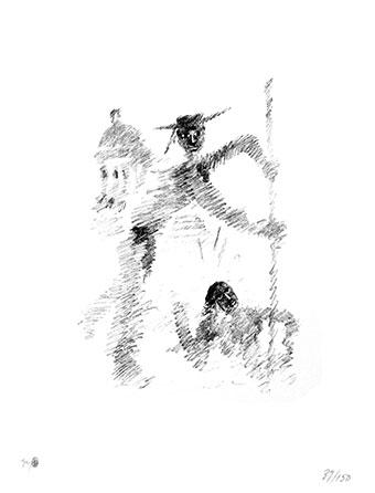 Gondolier - Jean Cocteau, 1956