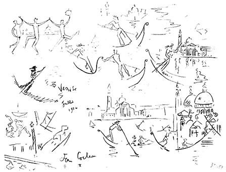 Venise - Jean Cocteau