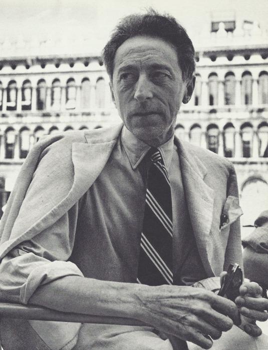 Horst P. Horst- Jean Cocteau, Venise, vers 1935