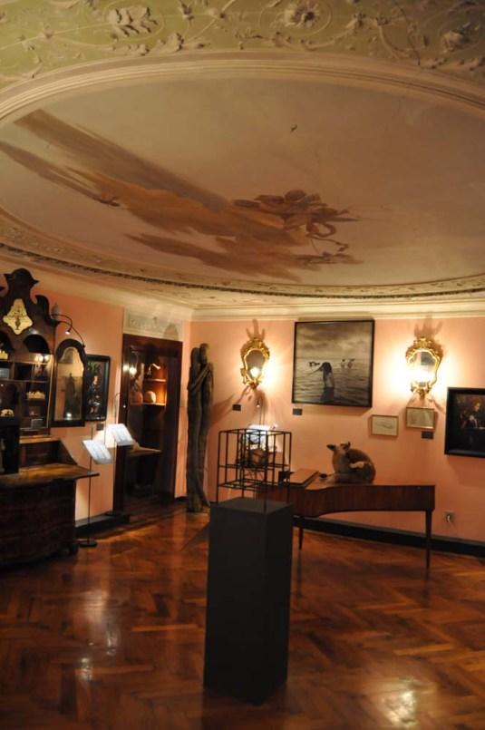 Wunderkammer - Cabinets de curiosités contemporain au palazzo Widmann à Venise