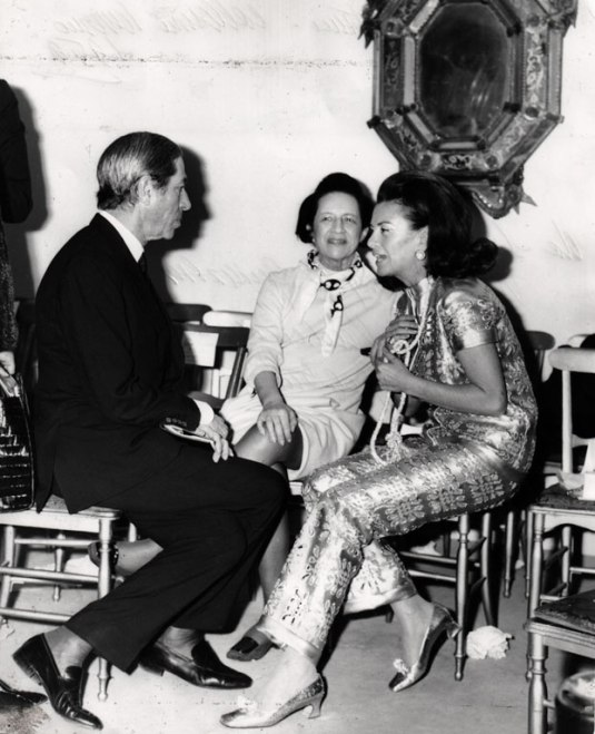 Diana Vreeland et la Princess Irene Galitzine. Image courtesy of Galitzine.