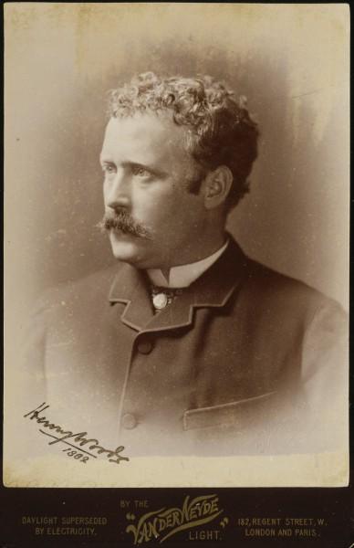 Henry Woods, vers 1882  - photo prise par John Marshall