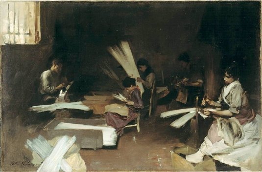Venetian Glass Workers John Singer Sargent - 1880-82 Art Institute of Chicago Collection de Mr. and Mrs. Martin A. Ryerson