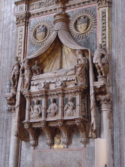 Niccolò di Giovanni Fiorentino Monumento al doge Francesco Foscari († 1475) Venise, Santa Maria Gloriosa dei Frari