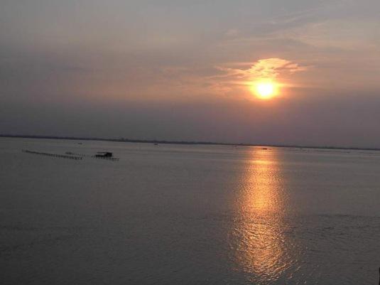 Tramonto in laguna da San felice Marangon