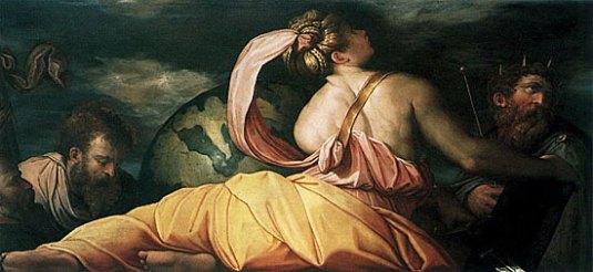 Patience, 1542, Giorgio Vasari, (Venise, Galleria dell'Accademia).