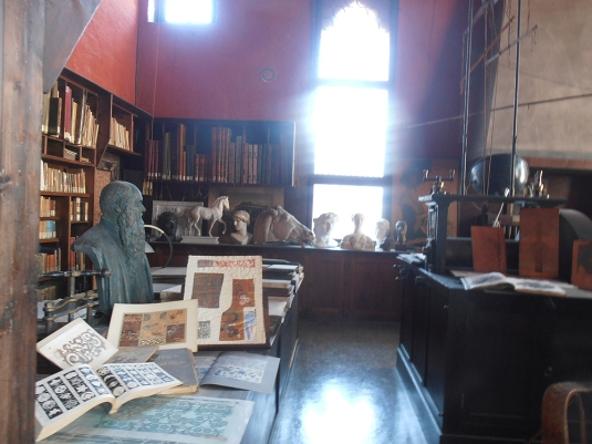 Le bureau de Mariano Fortuny