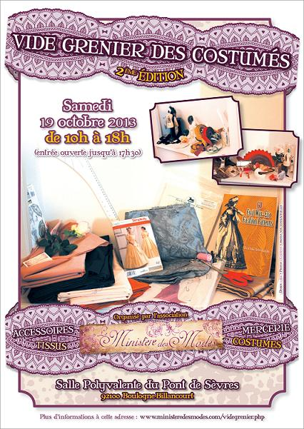 Vide grenier des Costumés 2ème Edition - Samedi 19 octobre 2013
