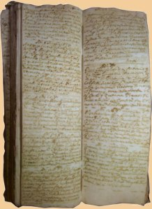 Livre des baptèmes de la paroisse de San Giovanni in Bragora ouvert à la page du 6 mai 1687