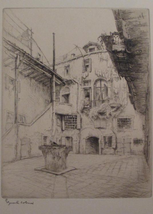 Venise - Corte Bottera. 1922.