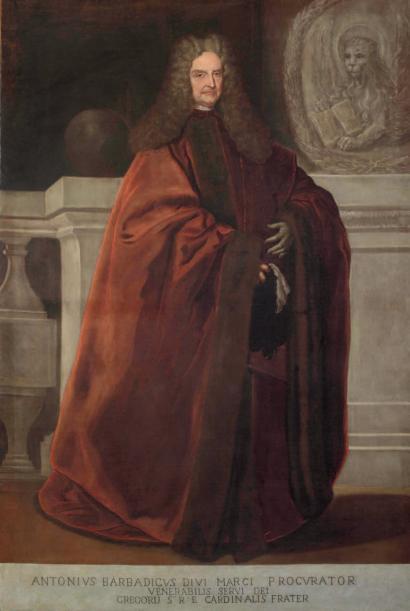 Portrait de Antonio Barbarigo, vers 1690 par Johan Karl Loth